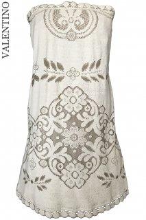 7号【レンタルドレス】Product code:00095 | VALENTINO 2012 Runway Lace Dress(ヴァレンティノ 織りレースのドレス)