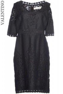 7号【レンタルドレス】Product code:00113 | VALENTINO 2012 Lace Dress(ヴァレンティノ 織りレースのドレス)