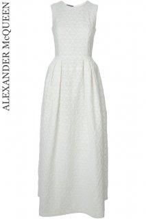 7号【レンタルドレス】Product code:01058 | ALEXANDER McQUEEN Floral Jacquard Gown(アレキサンダー・マックイーン ウェディング ドレス)