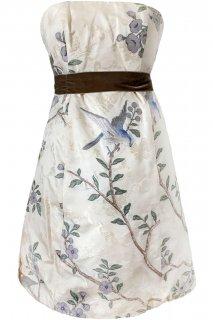7号■レンタルドレス■Product code:01062 | ALEXANDER McQUEEN Bird Embroidered Corset Dress (アレキサンダー マックイーン ドレス)
