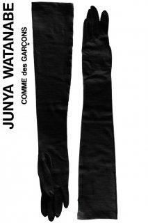 <img class='new_mark_img1' src='https://img.shop-pro.jp/img/new/icons50.gif' style='border:none;display:inline;margin:0px;padding:0px;width:auto;' />【レンタルアクセサリー】Product code:18003 | JUNYA WATANABE Wool Black Long Glove(ジュンヤ グローブ)
