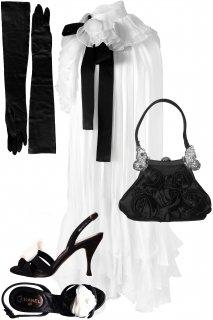 9号(7〜9号)■レンタルドレスセット■Product code:00001-6-set | VALENTINO 2008 Runway dress(ヴァレンティノ ドレス セット)Wedding!