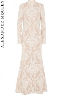 7号■レンタルドレス■Product code:01070 | ALEXANDER McQUEEN Lace Swiss-dot Tulle Dress Wedding(アレキサンダー・マックイーン)