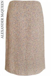 9号【レンタルドレス】Product code:01061 | ALEXANDER McQUEEN Runway Tweed Skirt(アレキサンダー・マックイーン スカート)