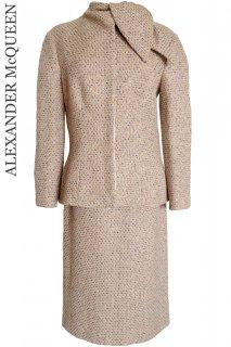 9〜11号【レンタルドレス】Product code:01034+01061 | ALEXANDER McQUEEN Runway Tweed Suit(アレキサンダー・マックイーン スーツ)