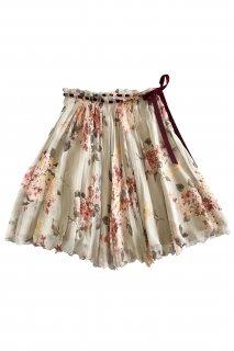 7号(7〜9号)■レンタルドレス■Product code:00003 | VALENTINO ROMA Floral Pleated Skirt(ヴァレンティノ スカート)