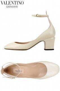 24.5,26.5cm【レンタルシューズ】PRD CODE:00109 | VALENTINO GARAVANI Tango Ivory Shoes(ヴァレンティノ シューズ)