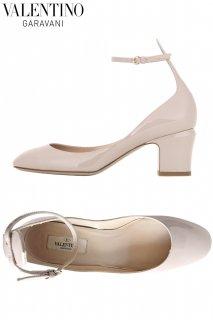 24.0cm【レンタルシューズ】PRD CODE:00122 | VALENTINO GARAVANI Tango Nude Patent Leather Shoes(ヴァレンティノ シューズ)