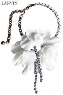 【レンタルアクセサリー】Product code:17016 | LANVIN Petal and Bijou Wedding Necklace(ランバン ウェディング ネックレス チョーカー)
