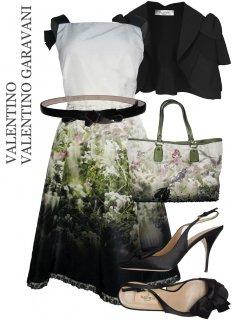 7-9号【レンタルドレスセット】Product code:00009-Set | VALENTINO Coordinated Set(ヴァレンティノ ドレス セット)