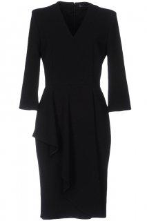 11号【レンタルドレス】Product code:01074 | ALEXANDER McQUEEN Ruffled stretch-crepe dress(アレキサンダー・マックイーン ドレス)