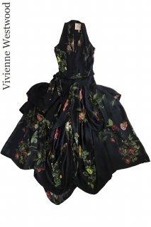 7-9号【レンタルドレス】Product code:11026 | Vivienne Westwood Floral Silk Long Dress(ヴィヴィアンウェストウッド)