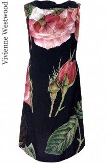 7号(7〜9号)【レンタルドレス】Product code:11008 | Vivienne Westwood ANGLOMANIA(ヴィヴィアン ウエストウッド ローズプリントドレス)