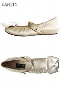 23.0cm■レンタルシューズ■Product code:17015 | LANVIN Ballet Flats Shoes(ランバン フラット シューズ)