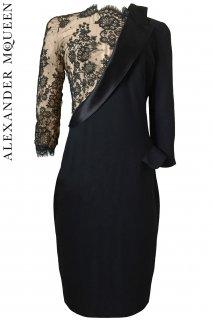 9号【レンタルドレス】Product code:01063 | ALEXANDER McQUEEN Lace Dress(アレキサンダー・マックイーン レースドレス)