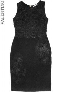 11-13号【レンタルドレス】Product code:00042 | VALENTINO Lace & Wool Dress(ヴァレンティノ ドレス)