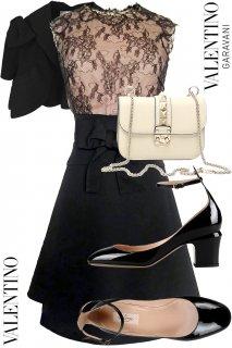 7号【レンタルドレスセット】Product code:00119-set | VALENTINO 2012 Dress(ヴァレンティノ ドレス セット)