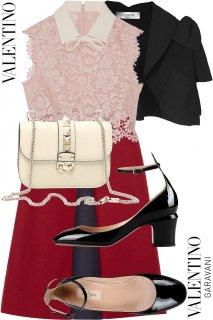 7-9号【レンタルドレスセット】Product code:00125-set | VALENTINO 2015 Dress(ヴァレンティノ ドレス セット)