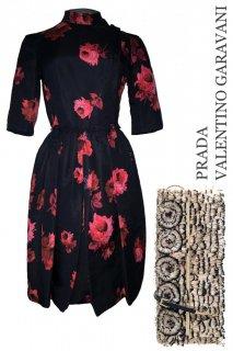 7-9号【レンタルドレスセット】Product code:09001-set | PRADA 2005 Dress(プラダ ドレス セット)