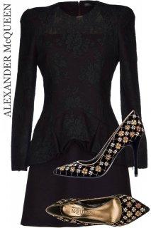 7-9号【レンタルドレスセット】Product code:01038-set | ALEXANDER McQUEEN 2013(アレキサンダー・マックイーン ドレス セット)