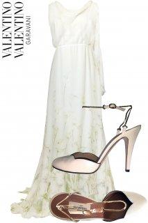 9号【レンタルドレスセット】Product code:00087-set | VALENTINO 2012 Wedding Dress(ヴァレンティノ ウェディングドレス セット)