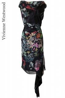 9号(7-9号)【レンタルドレス】Product code:11027 | Vivienne Westwood RED LABEL silk dress(ヴィヴィアン・ウェストウッド ドレス)
