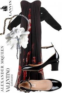 9号【レンタルドレスセット】Product code:01019-set | ALEXANDER McQUEEN 2012 Dress(アレキサンダー・マックイーン ウェディングドレス セット)
