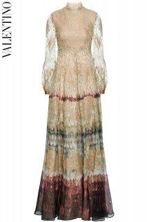 7-9号【レンタルドレス】Product code:00127 | VALENTINO 2015 Angel Wings Print Lace Gown(ヴァレンティノ ウェディングドレス)