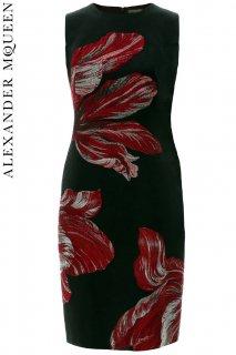 9号【レンタルドレス】PRD CODE:01083 | ALEXANDER McQUEEN Tulip Jacquard Dress(アレキサンダー・マックイーン ドレス)