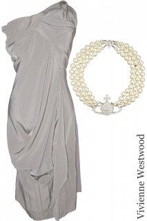 【レンタルドレス・アクセサリーセット】Product code:11004-11025-set | Vivienne Westwood(ドレス / チョーカーセット)