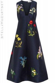 9-11号【レンタルドレス】Product code:16003 | STELLA McCARTNEY Floral Embroidered Long Dress(ステラ・マッカートニー ドレス)