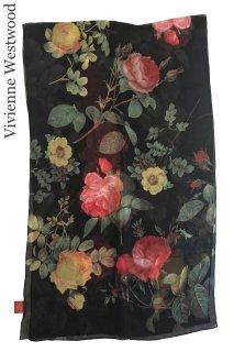 【レンタルアクセサリー】Product code:11006 | Vivienne Westwood Rose Print Stole(ヴィヴィアン・ウエストウッド ストール)