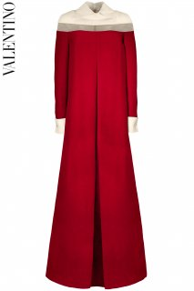7-9号【レンタルドレス】Product code:00132 | VALENTINO 2013 Wool-Silk Blend Long Gown(ヴァレンティノ ドレス)