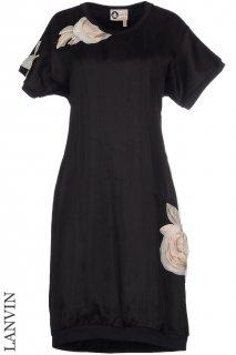 7号【レンタルドレス】Product code:17020 | LANVIN 2013 Flower Applique Runway Dress(ランバン ドレス)