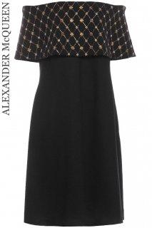 13号【レンタルドレス】Product code:01086 | ALEXANDER McQUEEN Wool Knit Dress 2013(アレキサンダー・マックイーン ニットドレス)