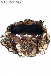 【レンタルアクセサリー】Product code:00133-N | VALENTINO 2012 Feather Necklace (ヴァレンティノ フェザーネックレス)
