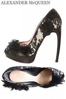 24.5cm【レンタルシューズ】Product code:01022 | ALEXANDER McQUEEN Lace Shoes(アレキサンダー・マックイーン シューズ)
