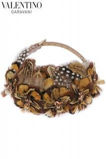 【レンタルアクセサリー】PRD CODE:00081 | VALENTINO GARAVANI Feather Leather Belt Necklace(ヴァレンティノ ネックレス)