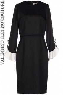 9号【レンタルドレス】Product code:00135 | VALENTINO TECHNO COUTURE Bell Sleeve Dress(ヴァレンティノ ベルスリーブ ドレス)