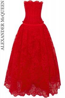7号【レンタルドレス】Product code:01101 | ALEXANDER McQUEEN 2018 Lyon Lace Gown(アレキサンダー・マックイーン ドレス)