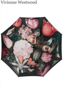 【レンタルアクセサリー】Product code:11033 | Vivienne Westwood Umbrella Bosschaert Print(ヴィヴィアンウェストウッド 長傘)