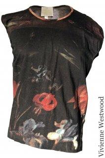 7-9号【レンタルドレス】Product code:11037 | Vivienne Westwood Jan Brueghel de Oude Print Top(ヴィヴィアン T-Shirt)