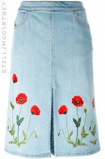 7号【レンタルドレス】Product code:16005 | STELLA McCARTNEY Falabella Denim Skirt(ステラ・マッカートニー デニムスカート)
