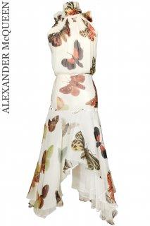 7号【レンタルドレス】Product code:01047+01071 | ALEXANDER McQUEEN Butterfly Top & Skirt-set(アレキサンダー・マックイーンドレス)
