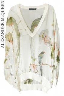 7号【レンタルドレス】Product code:01109 | ALEXANDER McQUEEN Bird of Paradise Silk Top(アレキサンダー・マックイーン トップ)