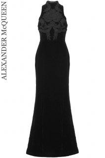7号【レンタルドレス】PRD CODE:01110 | ALEXANDER McQUEEN Acanthus Motif Embroidered gown(アレキサンダー・マックイーン ドレス)