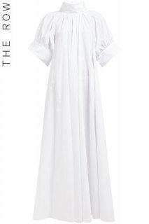 9号【レンタルドレス】PRD CODE:24001 | THE ROW Alba Cotton-Poplin Maxi Dress(ザ ロウ マキシドレス/ウェディングドレス)