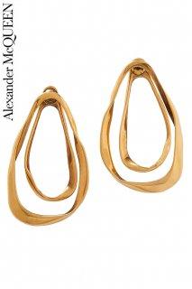 【レンタルアクセサリー】PRD CODE:01127 | ALEXANDER McQUEEN Double Loop Earrings(アレキサンダー・マックイーン ピアス)