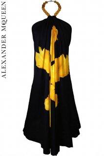 7号(7〜13号)■レンタルドレス■Product code:01036 | ALEXANDER McQUEEN Big Flower print dress(アレキサンダーマックイーン ドレス)