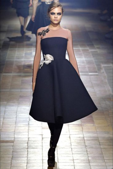 BrandLANVIN Size36(9号) ColorBlack Material73% Polyester , 24% Wool , 3%  Elastane
